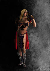 WIP warrior 2 by Nylath