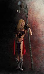 WIP warrior 4 by Nylath