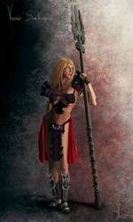Warrior final by Nylath