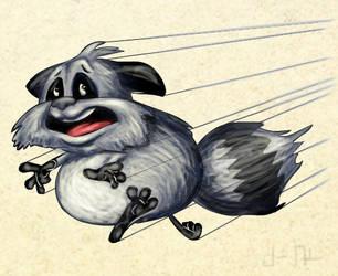 run racoon run by joseanderson