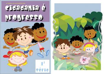 my 1st children's book cover by joseanderson