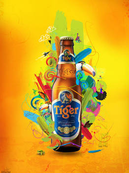 Tiger Beer : Energy by archanN