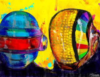 Daft Punk by archanN