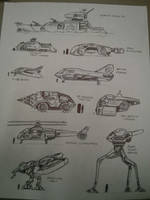 Vehicle Concepts 2 by joshuad17
