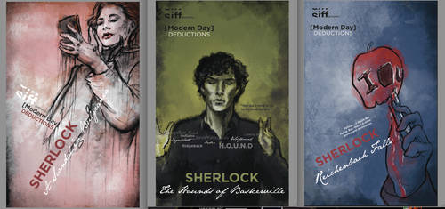 Sherlock Poster Series by kawaii-namine