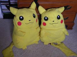 Pikachu Pillows :D by kawaii-namine