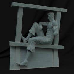 Guts resting ship by GVDigitalSculptor