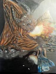 Dragon  by JohnJonesOshawa