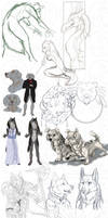 Sketch dump 2013 by SaQe