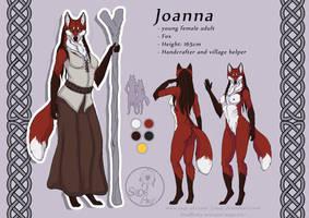 Characters: Joanna by SaQe