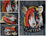 Commissions: 3D - Portrait - Karma by SaQe