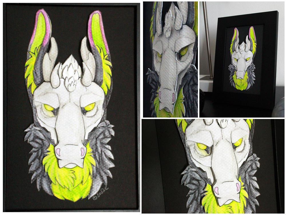 Commissions: 3D - Portrait - Phantom by SaQe