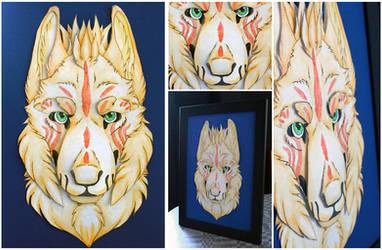 Commissions: 3D - Portrait - Rowan by SaQe
