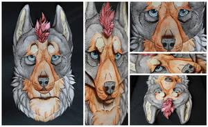 3D-Portraits: Shamsiel by SaQe