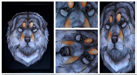 3D -Portraits: Ella by SaQe