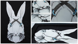 3D - Portraits: Graffiti Rabbit by SaQe