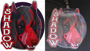 Commissions: Shadow - badge by SaQe