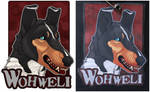 Commissions: Wohweli - badge by SaQe