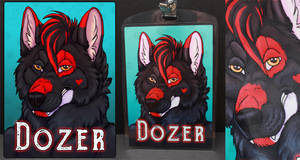 Commissions: Dozer - badge by SaQe