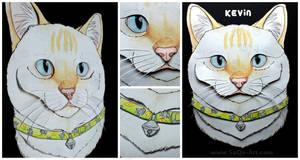 Commissions: 3D - Portrait - Kevin by SaQe