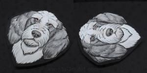 Commissions: Petit Basset Griffon Vendeen by SaQe