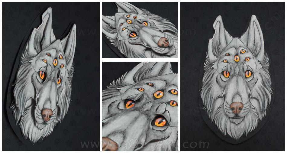 Commissions: 3D - Portrait - Morri by SaQe