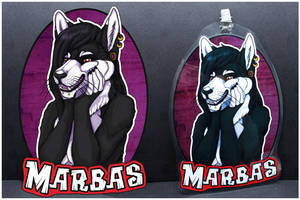 Commissions: Marbas -badge by SaQe