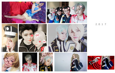 2017 cosplay collage by MsKuroAlice