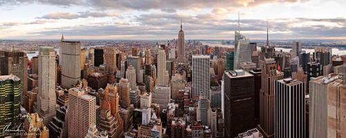 New York Skyline 1 by Nightline