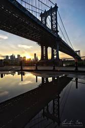 Manhattan Bridge by Nightline