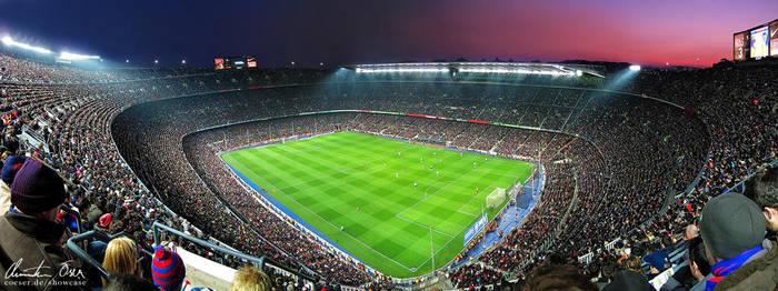 Nou Camp Stadium Barcelona 2 by Nightline