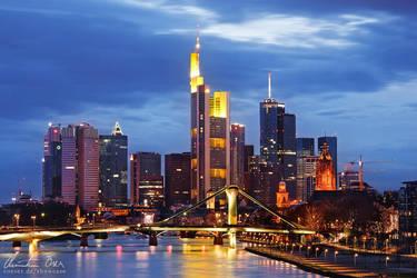 Frankfurt Skyline 2 by Nightline