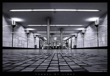 Tunnel of light by Nightline