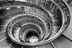 Vatican Stairs 1 by Nightline