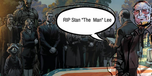 Rip Stan lee by Escy9990