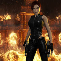 Lara's Shadow by Koei-Warrior