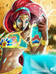 Lady Urbosa, Gerudo Champion by ZtheSOI