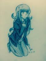 Sketch Request AquaAngel1010: Amina by Phatom12