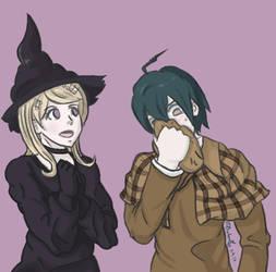Danganronpa Halloween by Phatom12