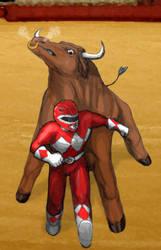 Mighty Morphin Matador by BobbyBobby85