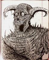 happy demon  by hourgaththeputrid777
