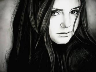Nina Dobrev by FreakLexie