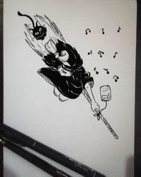 Inktober X Studio Ghibli Day 2/31 by Pirata-kun