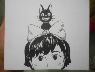 Inktober X Studio Ghibli Day 3/31 by Pirata-kun