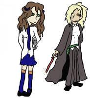 Hogwarts girls by Nammah