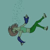Nia-into the ocean by Nammah