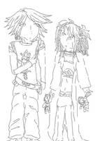 Koya and Ankey by Nammah