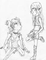 Adrian and Kero by Nammah