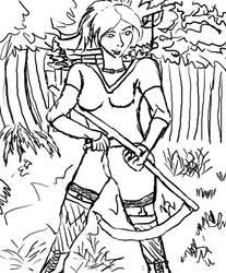 Daxia scythe by Nammah