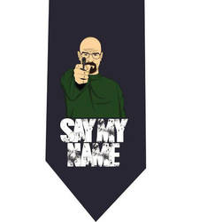 Say My Name Blue Tie - model 1 by CoolTies